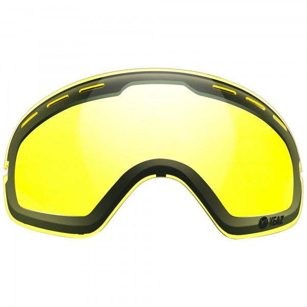 XTRM-SUMMIT CLOUDY Yellow lens with frame