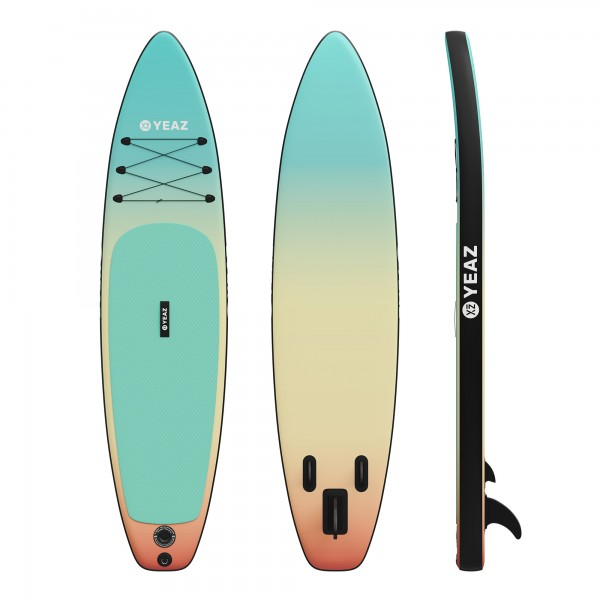LAGUNA BEACH - EXOTREK - Paddle avec pagaie, pompe et sac à dos