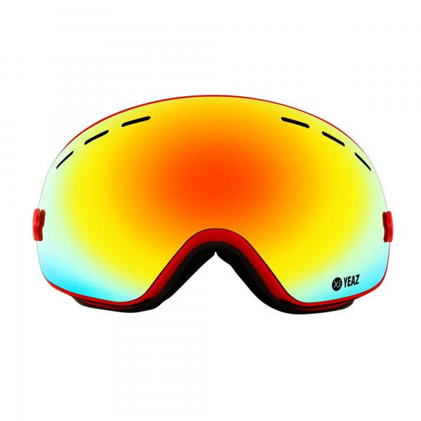 XTRM-SUMMIT Ski- Snowboard goggles with frame red