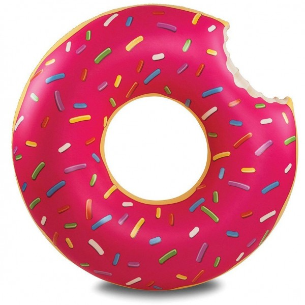 RING SERIE - PINK DONUT Pool Float