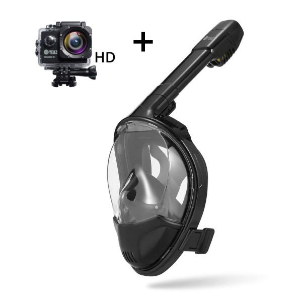 OCEAN VIEW Masque de snorkeling Taille S/M avec CHALLENGER HD