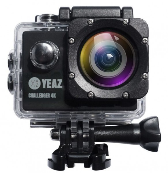 CHALLENGER Caméra de sport 4K avec accessoires