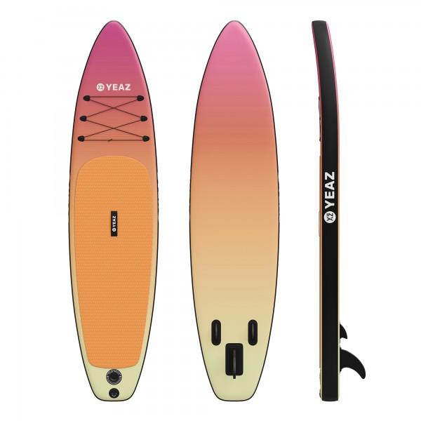 PARADISE BEACH - EXOTREK - SUP-Board mit Paddel, Pumpe und Rucksack
